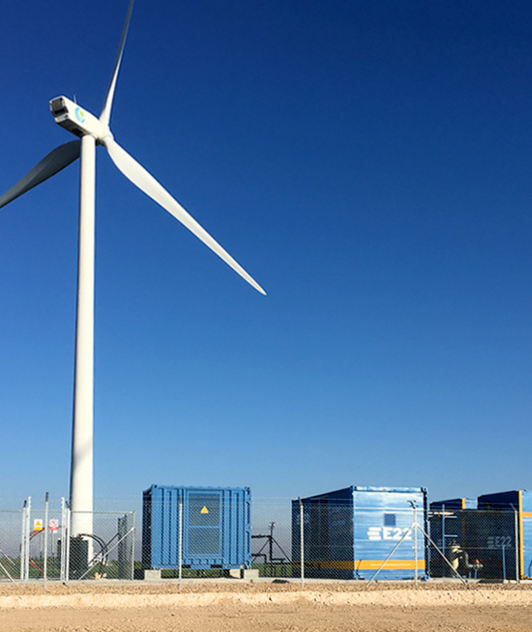 services for energy storage by E22
